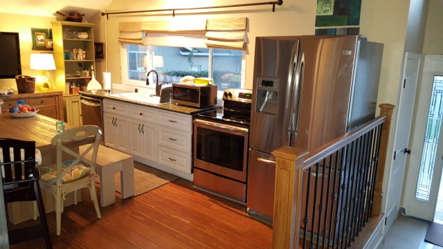 We Install A Complete Kitchen (top Three Images), Including Dish Washer,  Sink, Garbage Disposal, Microwave, Electric Range, And Refrigerator With  Water, ...